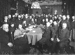 Вторая Государственная Дума. Собрание актива Кадетской партии в доме Набокова В.Д. (Б. Морская, д. 47) накануне открытия Думы. Февраль 1907 г.