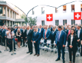Торжественное открытие нового комплекса зданий Посольства Швейцарии в Москве